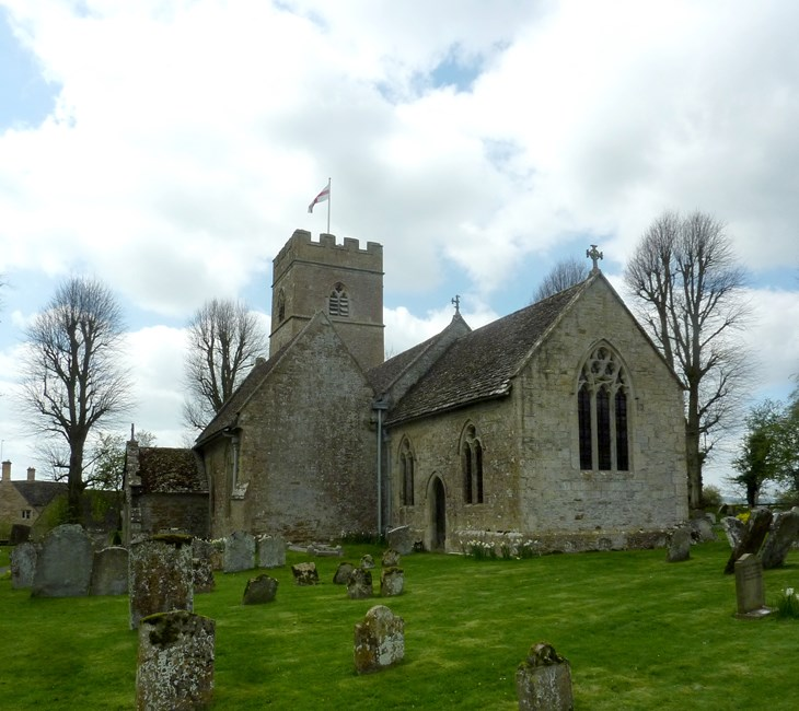 Church of St Edward, Evenlode - Cotswold