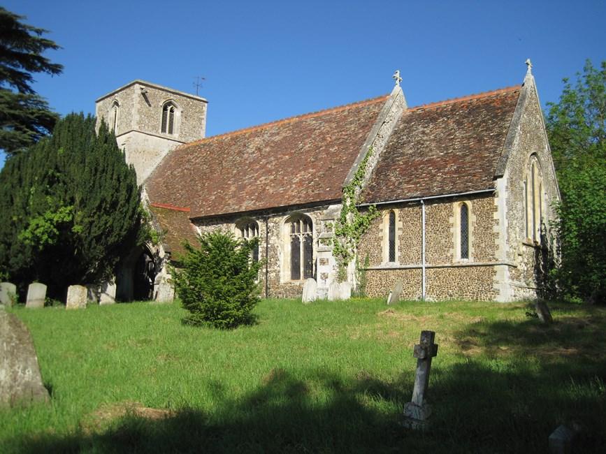 Church of St Giles, Potton Road, Tadlow - South Cambridgeshire