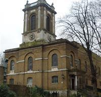 Hope Church (former Church of St Mary Magdalene) and attached railings, Holloway Road, Islington N7 - Islington