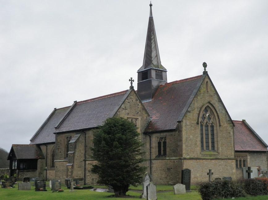 Church of St Luke, Church Lane, Winmarleigh - Wyre