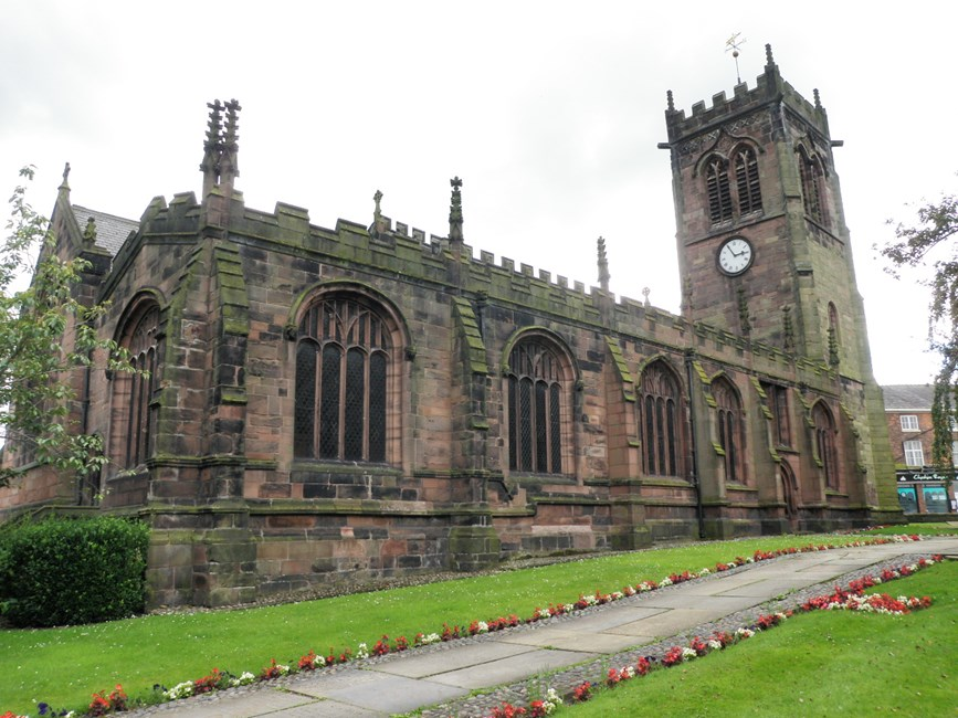 Church of St Michael and All Angels, Middlewich, Middlewich - Cheshire East (UA)