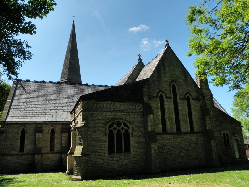 Church of St John the Evangelist, King's Road, Ashton-under-Lyne - Tameside