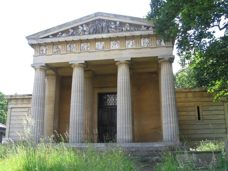 Augustus Ralli Mortuary Chapel, Norwood Road, West Norwood Memorial Park SE27 - Lambeth