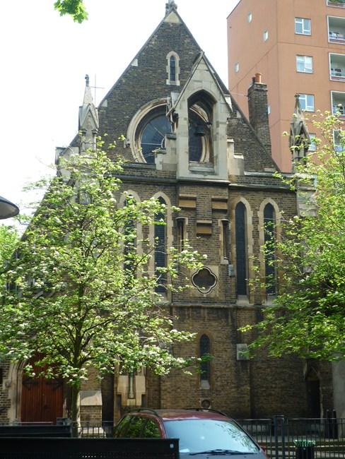 Church of the Holy Cross, Cromer Street, Camden Town WC1 - Camden