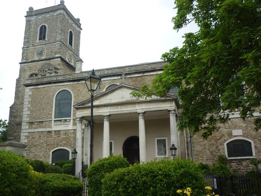 Church of St Mary the Virgin, Lewisham High Street, Lewisham SE13 - Lewisham