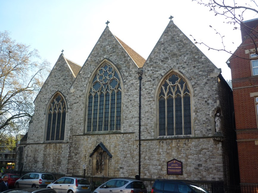 Church of St Mary Magdalene, Munster Square, Camden Town NW1 - Camden