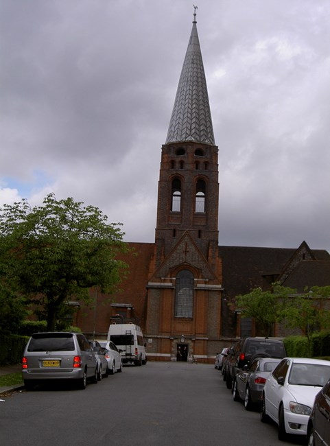Church of St Jude, Central Square, Hendon NW11 - Barnet