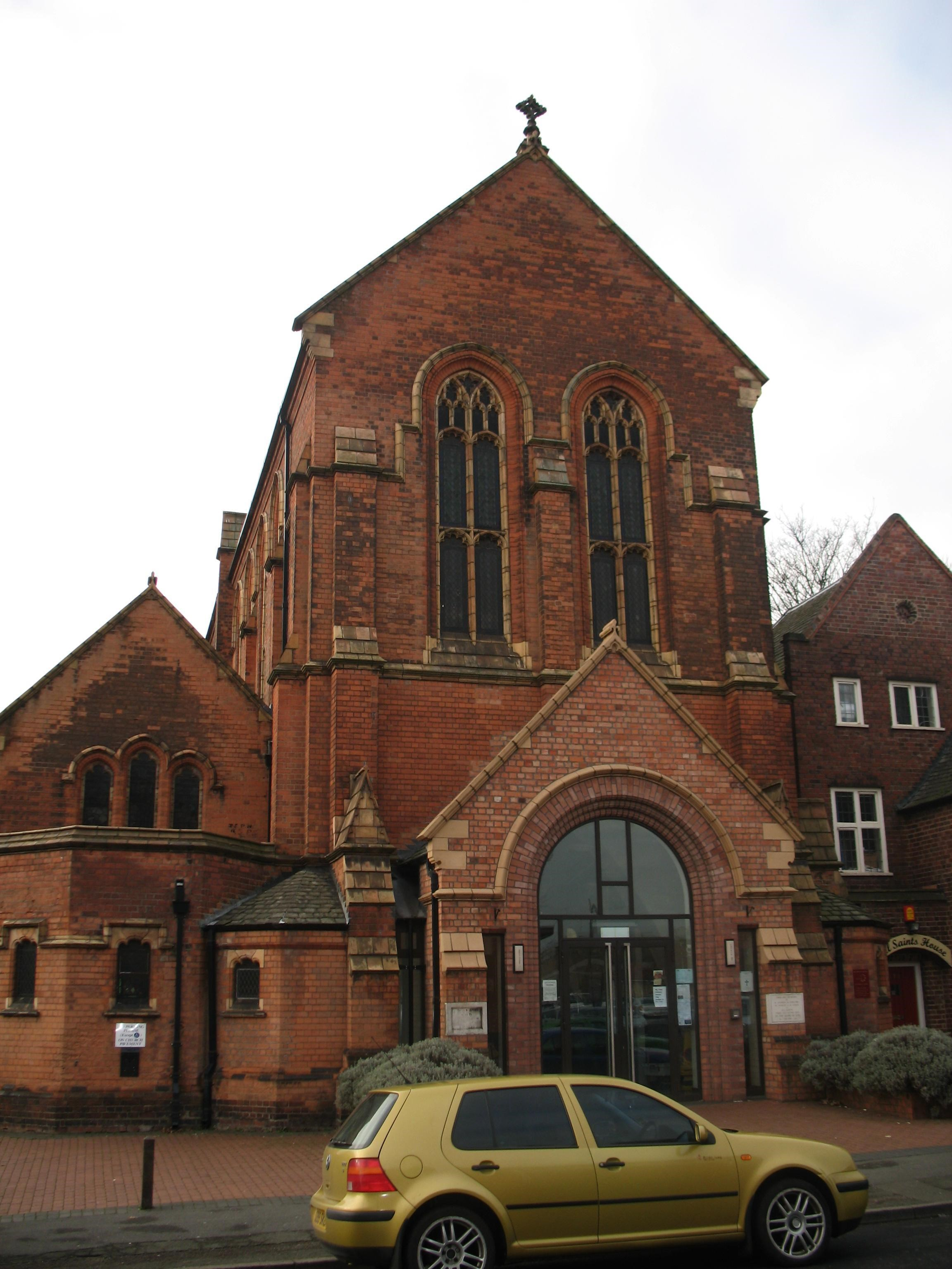 Parish Church of St Aidan, Herbert Road B10, Birmingham