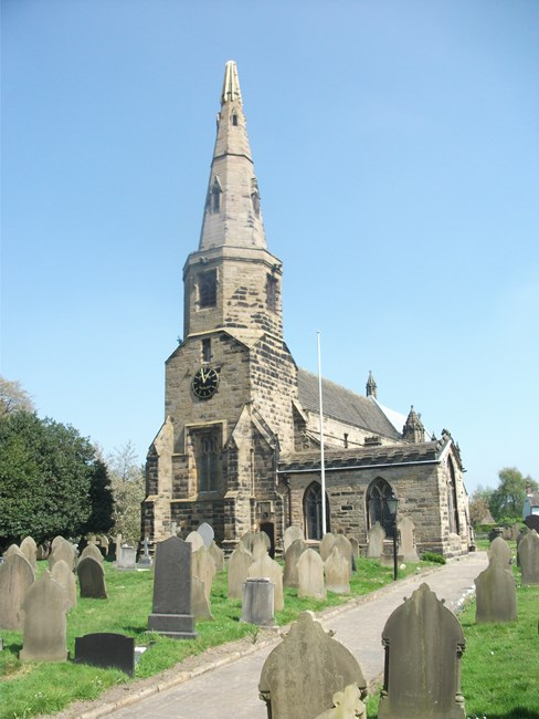 Church of St Cuthbert, Halsall Road, Halsall - West Lancashire