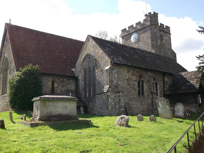 Parish Church of All Saints, Waldron, Heathfield and Waldron - Wealden