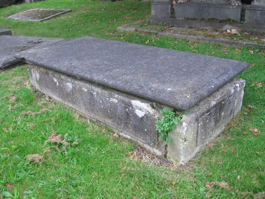 Tomb of John Crutchley, Lee Terrace, St Margaret's Old Churchyard SE13 - Lewisham