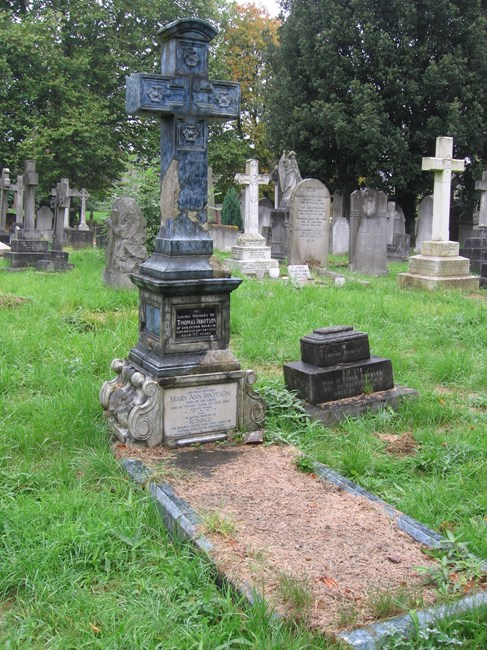 Tomb of Ibbotson Family, Norwood Road, West Norwood Memorial Park SE27 - Lambeth