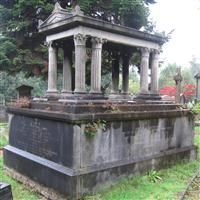 Tomb of Johann and Annie Sparenborg and family, Norwood Road, West Norwood Memorial Park SE27 - Lambeth