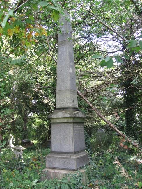 Tomb of John Stevens, Norwood Road, West Norwood Memorial Park SE27 - Lambeth