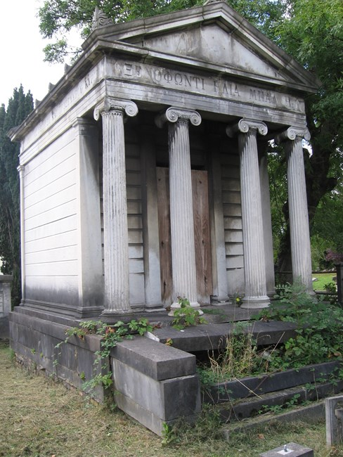 Tomb of XE Balli Family, Norwood Road, West Norwood Memorial Park SE27 - Lambeth