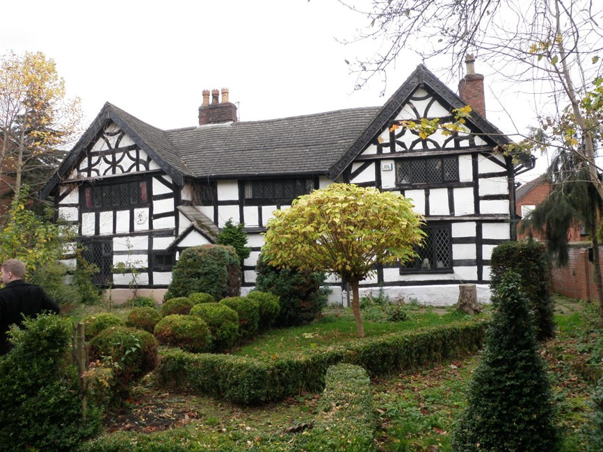 Moseley Old Hall, Cuthbert Road - Stockport