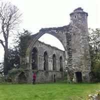 Ruins of the former friary church [Grey Friars (Winchelsea Priory)], Friars Road, Winchelsea, Icklesham - Rother