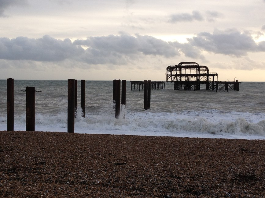 The West Pier, Kings Road, Brighton - Brighton and Hove, City of (UA)