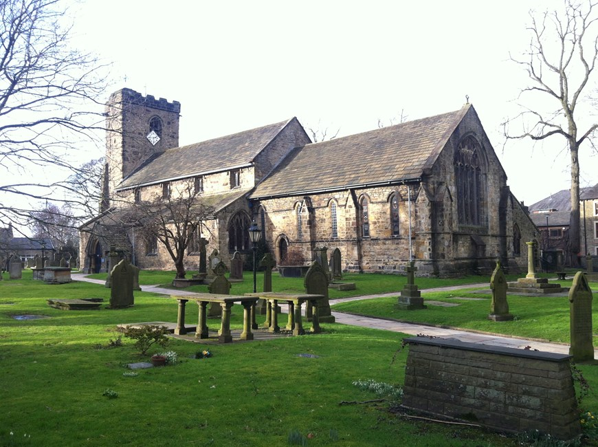 Church of St Mary and All Saints, Church Lane, Whalley - Ribble Valley
