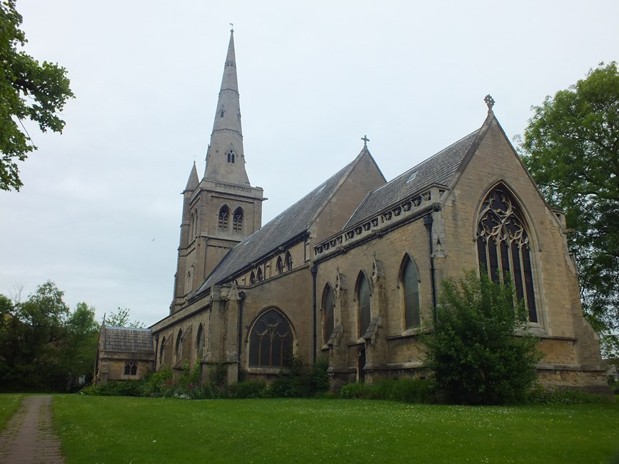 Church of St John the Evangelist, St John Street, Mansfield - Mansfield