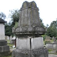 Tomb of William Price Lewis, Harrow Road, Kensal Green Cemetery W10 - Kensington and Chelsea
