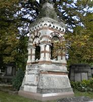 Tomb of John Gibson, Harrow Road, Kensal Green Cemetery W10 - Kensington and Chelsea
