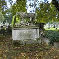 Tomb of Alfred Cooke, Harrow Road, Kensal Green Cemetery W10 - Kensington and Chelsea