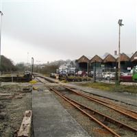 Engine Sheds, Stack and Turntable, St Blazey Road, St. Blaise - Cornwall (UA)