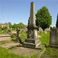 Tomb of John Lucas, Harrow Road, Kensal Green Cemetery W10 - Kensington and Chelsea