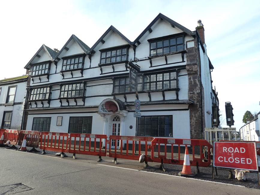 The Manor House Hotel, 2, Fore Street, Cullompton - Mid Devon