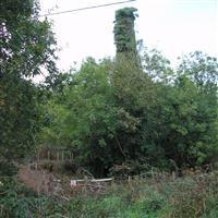 Holmbush Mine: Windsor Lane rotative engine house with adjacent boiler house, loadings and platform, Stokeclimsland - Cornwall (UA)
