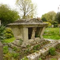 Tomb of Elizabeth Johnson, St Mary's Churchyard, St Mary's Road, Wimbledon SW19 - Merton