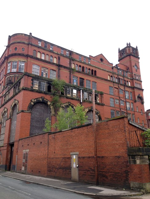 Swan Lane Mill No. 3, Higher Swan Lane - Bolton