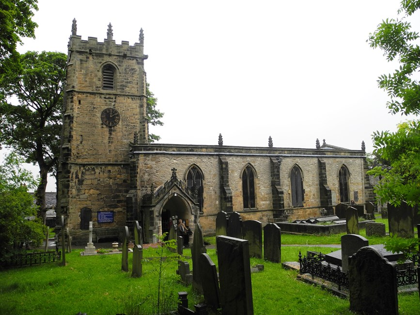 Church of St Edmund, Back Street, Castleton, High Peak - High Peak