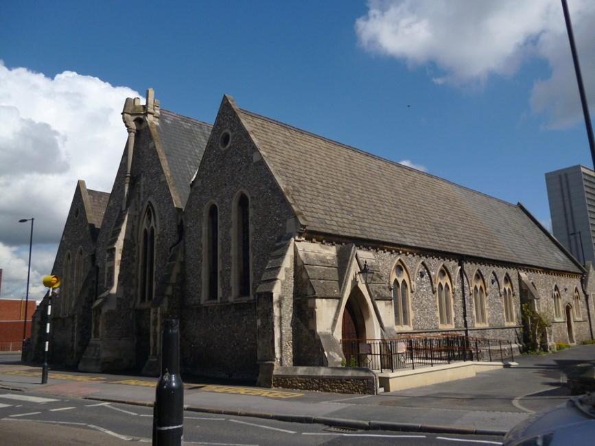 Church of St Andrew, Southbridge Road - Croydon
