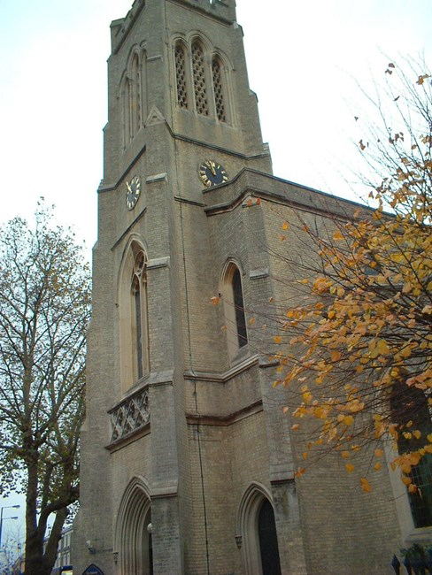 Church of St John, North End Road, Walham Green SW6 - Hammersmith and Fulham