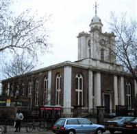 Church of St John on Bethnal Green, Cambridge Heath Road, Bethnal Green E2 - Tower Hamlets