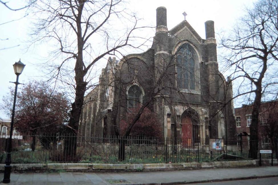 New Testament Church of God (former Holy Trinity), Morgan Street, Bethnal Green E3 - Tower Hamlets