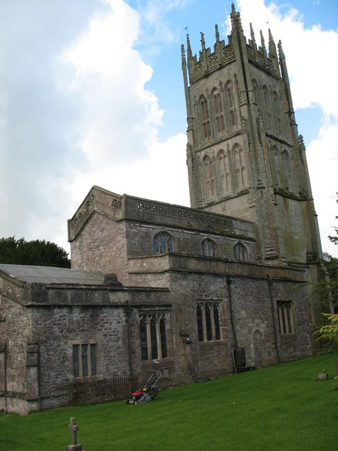 Church of St Giles, Church Walk, Leigh-on-Mendip - Mendip