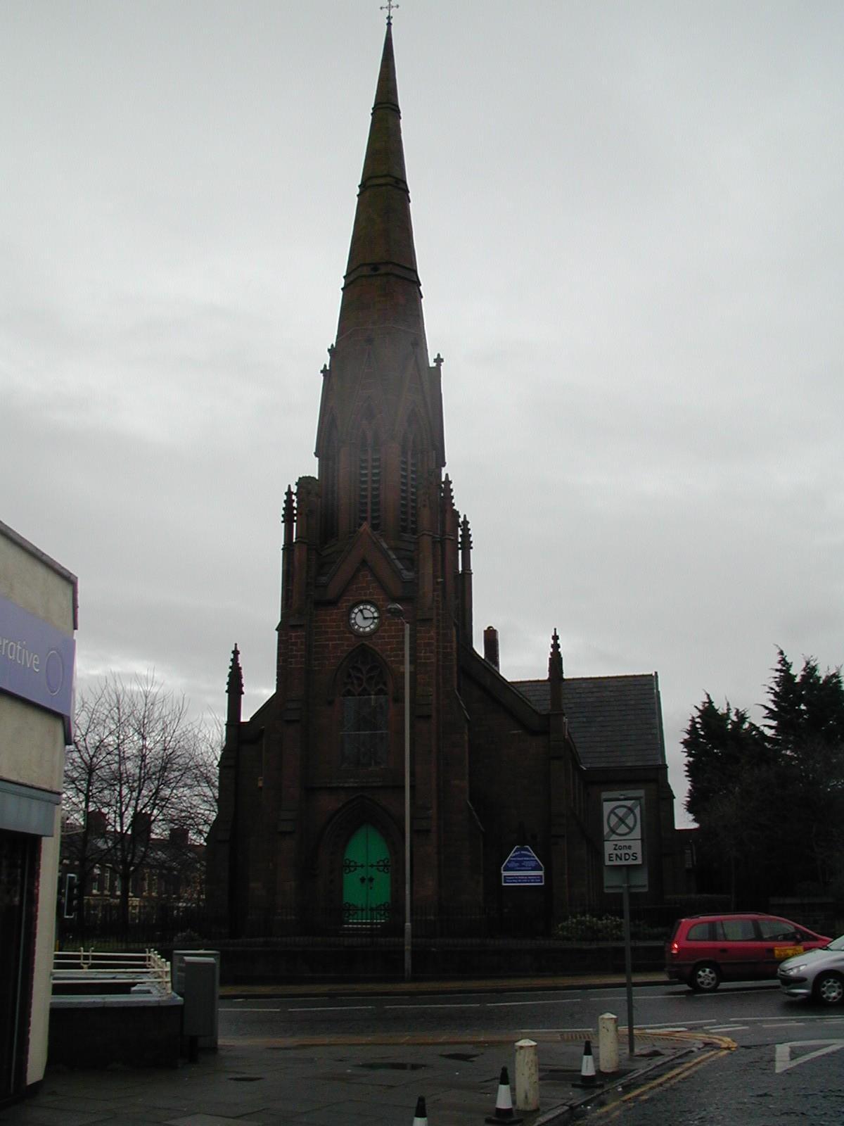 Holy Trinity Church, Breck Road, Walton Breck