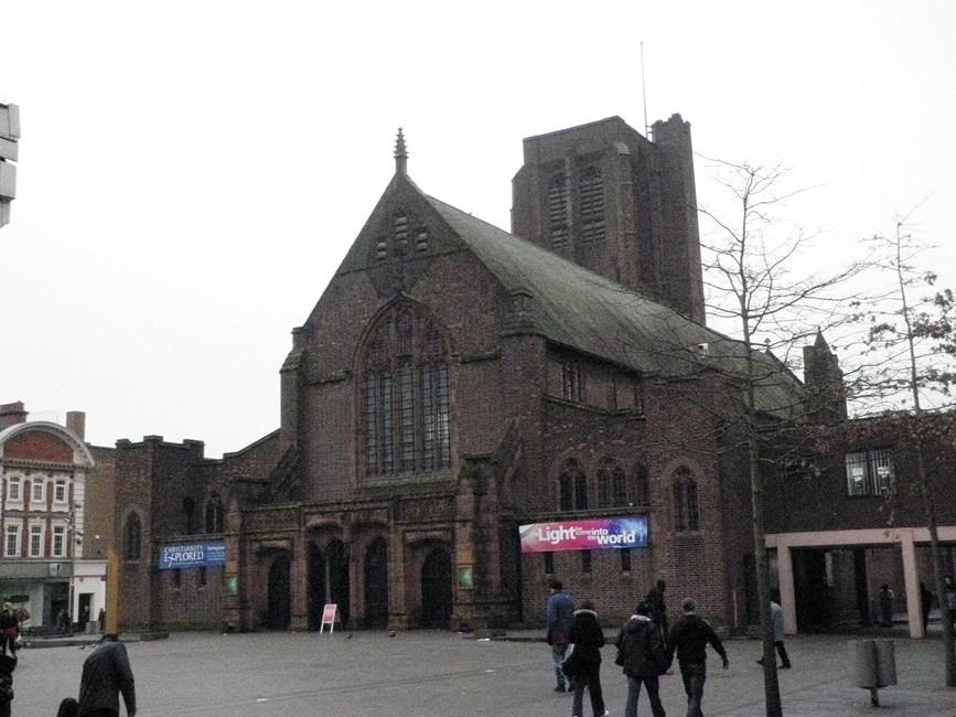 Church of St Helen, Church Street, St Helens - St Helens