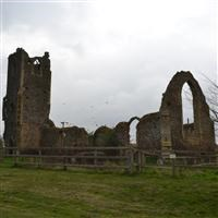 Ruins of St Andrew's Church, Roudham and Larling - Breckland