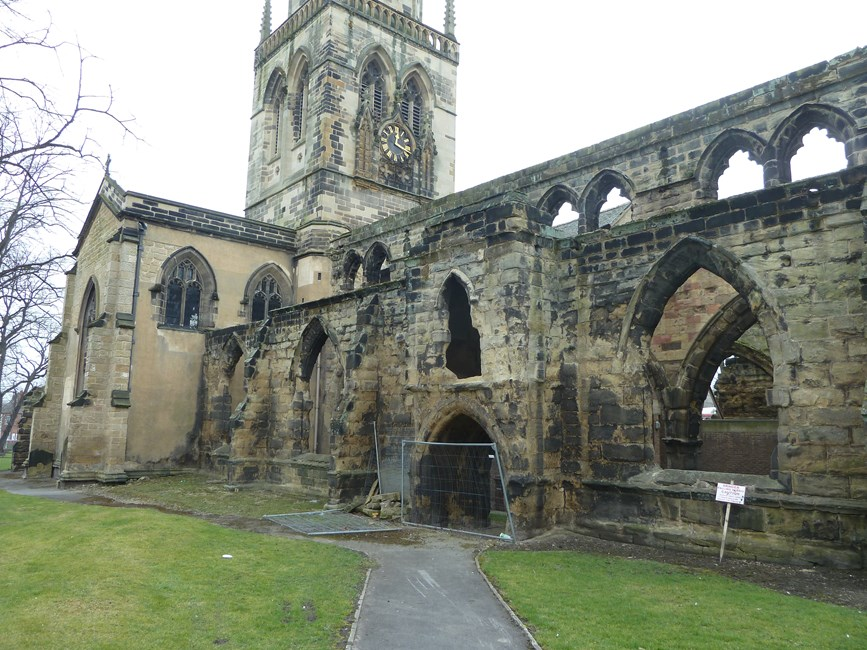 Church of All Saints, South Baileygate - Wakefield