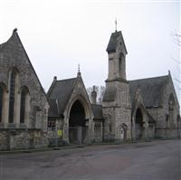 The Chapels at Paddington Cemetery, Willesden Lane - Brent