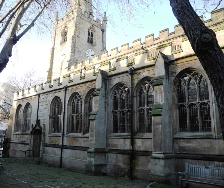 Church of St Peter, St Peter's Gate, Nottingham - Nottingham, City of (UA)