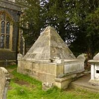 Tomb of Gerard De Visme 10 Feet to north of west tower of Chapel in Churchyard of St Mary, St Mary's Road, Wimbledon SW19 - Merton