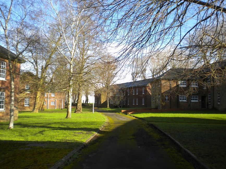 Buildings 1-5 (Airmen's barrack blocks), West Camp, Main Road, A233 (east side), Biggin Hill - Bromley