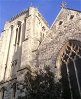 Church of St Stephen the Martyr and St Thomas, including stone wall surrounding churchyard, Uxbridge Road W12 - Hammersmith and Fulham