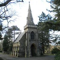 Nonconformist Chapel, Lavender Hill Cemetery, Cedar Road - Enfield