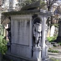 Tomb of Robert Coombes, Brompton Cemetery, Old Brompton Road SW10 - Kensington and Chelsea